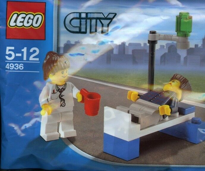 LEGO CITY Doc & Patient 4936