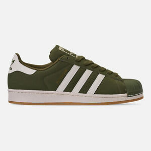 Men-039-s-adidas-NIB-Superstar-Casual-Shoes-Lifestyle-Shoes-Limited-Ed-Olive-Cargo