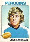 1975 Topps Chuck Arnason #57 Hockey Card