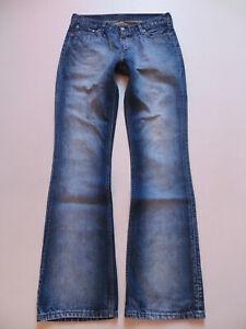 Levi's 529 Damen Bootcut Jeans Hose W 30 /L 36, Vintage Denim ! Kult Waschung  !