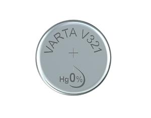 2x Varta V 321 Uhrenzelle, 1,55v FöRderung Der Produktion Von KöRperflüSsigkeit Und Speichel