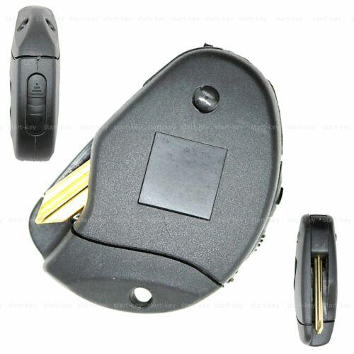 Llave plegable chasis de reemplazo batería para Fiat Ulysse Scudo hasta 2006