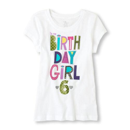 CUTE ~NEW~ 6th BIRTHDAY 6 Years Girls Happy PRINCESS Shirts 5-6 S 7-8 M Gift