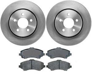 2x 332mm Bremsscheiben Keramik Bremsbeläge vorne für Jeep Cherokee KK 2008-2012