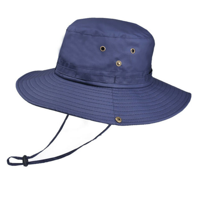 Bucket Hat Boonie Hunting Fishing Outdoor Cap Wide Brim Military Unisex new hhh