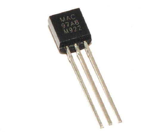 10pcs MAC97A8 97A8 TO-92 Triac Thyristor NEW