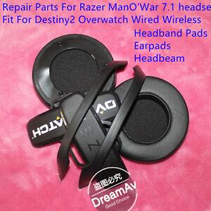 Details about Headband Broken Parts EarPads Pads For Razer ManO'War  Destiny2 Overwatch Headset