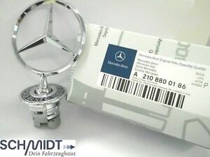 Original-Mercedes-Benz-Stern-Motorhaube-W-202-W-203-W-210-W-211-W-220-Neu