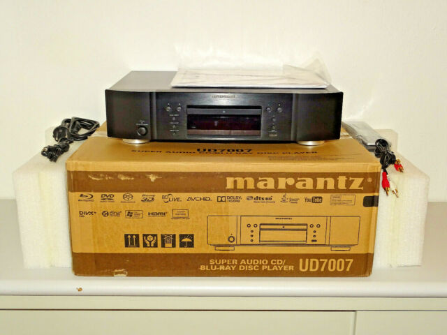 Marantz UD7007 High-End Blu-ray / SACD-Player Black, OVP&NEU, 2 Jahre Garantie