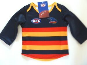 AFL-ADELAIDE-CROWS-TODDLERS-FOOTY-JUMPER-GUERNSEY-034-NEW-FOR-2018-034-BRAND-NEW