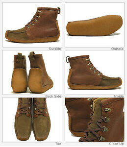 9 Clarks 8 5 Marrón Uk G 11 10 Suede Natalie 9 Ebony Wallabees Originals Combi SwrqzSHU