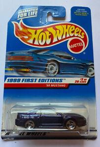 1999-HOTWHEELS-99-Ford-Mustang-Viola-sigillato-MOC-molto-RARO