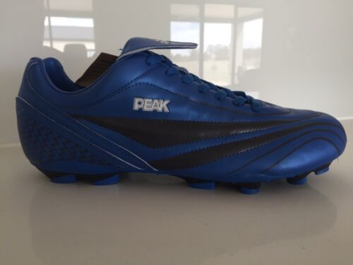 CLEARANCE LAST 2 PAIRS NEW IN BOX MENS FOOTBALL BOOTS Royal Blue Size 11