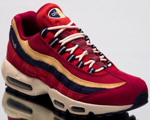super popular 50700 a0a6e Nike Air Max 95 Premium Men Lifestyle Shoes Red Crush Provence ...