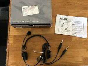 Telex Airman 750 Pilot Headset Aviation 64300-200 With Box ...