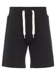 NAME-IT-Jungen-Shorts-Jogginghose-Vermond-schwarz-Groesse-92-bis-164