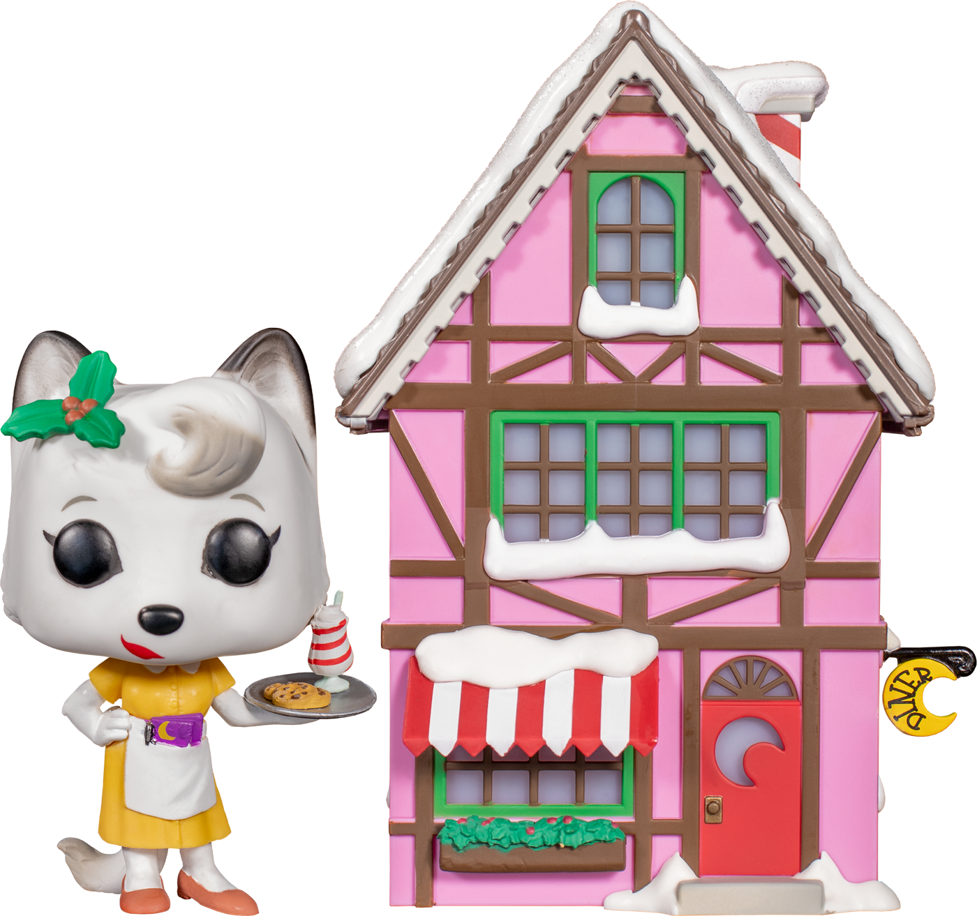 Alice Cranberry With Crescent Moon Diner Light Up divertiessitoko Pop Vinyl nuovo in scatola