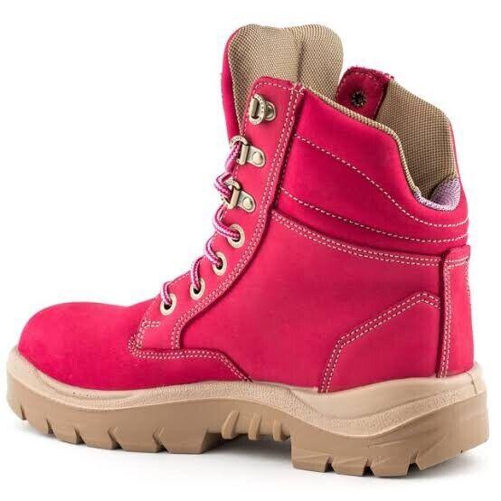 Steel Blue Southern Cross Ladies Pink Boots 522761 Size 5 (UK3) BNIB RRP$199