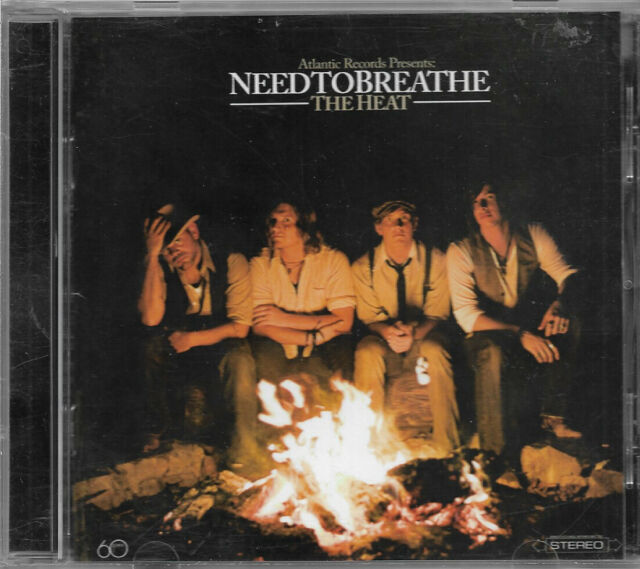NEEDTOBREATHE The Heat CD (2007) Spare The Time, Restless, Streets Of Gold