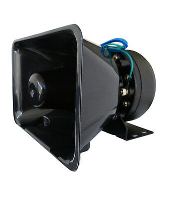 CAR AMPLIFIER ALARM 12V PA SPEAKER SYSTEM MIC 100W SOUND LOUD