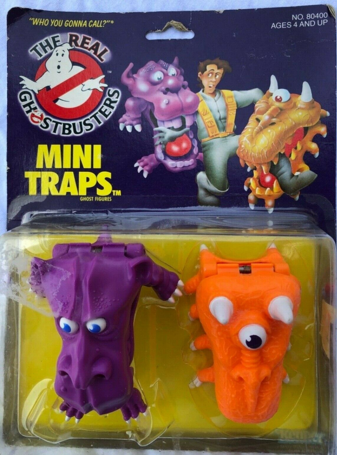MOC 1984 86 MINI TRAPS THE REAL GHOSTBUSTERS KENNER