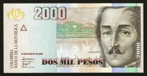 P-457 Colombia 2008 2,000 2000 UNC Pesos