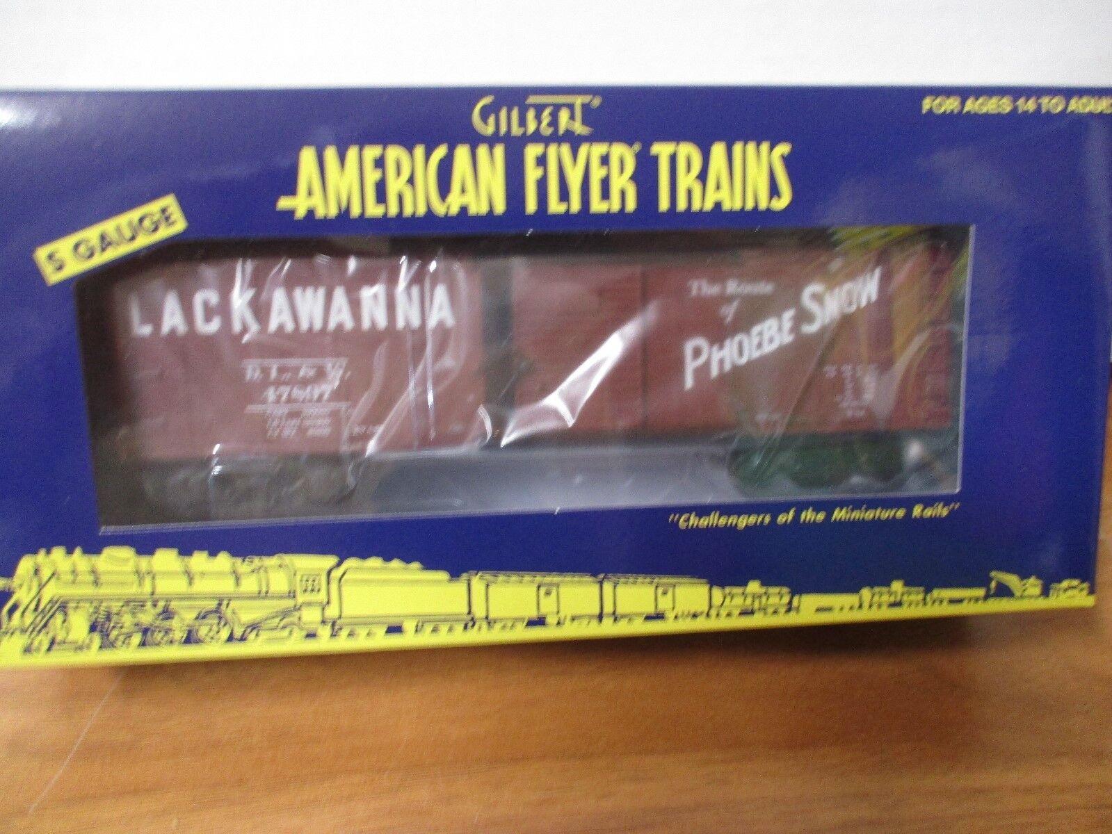American Flyer LTI 6-44074 Lackawanna coche de caja (7-19-18)