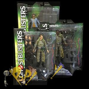 Ghostbusters Select Series 1 Ensemble De Figurines Ray Stantz Winston Zeddemore Louis Tully