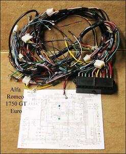 wiring harness for alfa romeo 1750 gtv euro p n e0494 ebay rh ebay com Alfa Romeo Spider alfa romeo 156 wiring harness