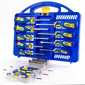 Quality Screwdriver Complete Kit Magnetic Tip Hex Torx