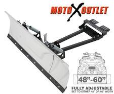 "Kolpin Switchblade Atv Snow Plow Adjustable 48"" 60"" Blade Complete Kit Universal"