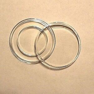 ~1 Direct Fit 27mm Coin Capsule For US Large Cent Chain
