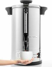 Stainless Steel Percolate Coffee Maker Hot Water For Catering 55 Cup 8l Metallic