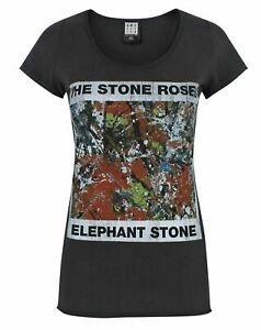 Amplified-Stone-Roses-Elephant-Stone-Women-039-s-T-Shirt