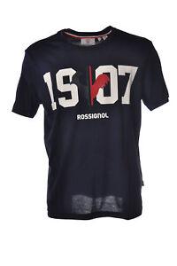Rossignol-Topwear-T-shirts-Man-Blue-5208629L183343