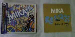 mika-the-boy-who-knew-to-much-china-signed-album-relax-single-France-promo