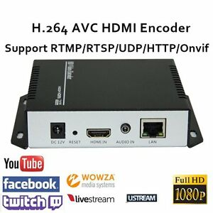 Details about H 264 Portable HDMI Encoder with http rtsp RTMP for Live  Stream Broadcast