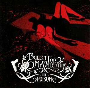 BULLET-FOR-MY-VALENTINE-the-poison-CD-album-2005-metalcore-emo-very-good