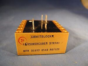 Natel Cirkitblock Powercube 5TR50 MFR-31557-8542-R07129 (NOS)