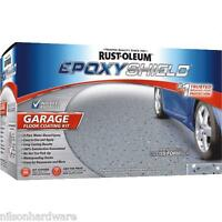 2-rustoleum Epoxyshield Gray W/blue Chips Gloss Garage Floor Paint Kits 251965