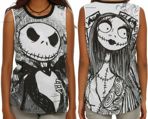 ~disney~ Christmas Before Sally Juniors Muscle For Jack The And Nightmare Top x7zYPnwgq