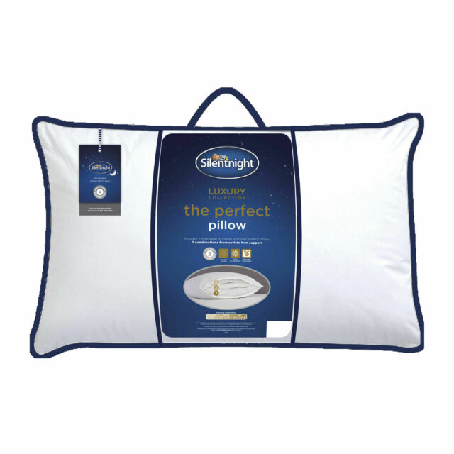 Silentnight Hotel Collection Bed Pillow Pair Luxury Home Pillows
