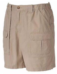 92d5f144a1 CROFT & BARROW Mens Shorts Big&Tall CARGO Tan Beige Side-Elastic ...