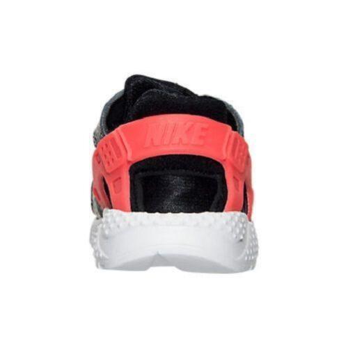 1d7e5eea0cf4 5 of 7 Toddler NIKE HUARACHE RUN Kids Slip On Black Trainers 704950 010