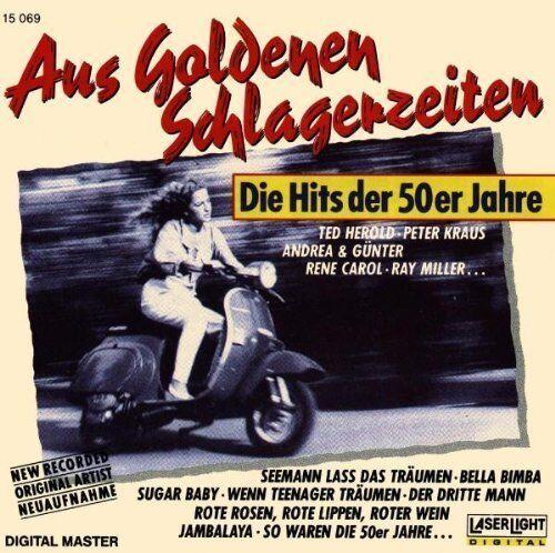 Aus goldenen Schlagerzeiten-Die Hits der 50er Jahre René Carol, Peter Kra.. [CD]
