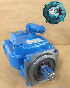 Vickers pvh74 81 unit variable displacement piston pump for Variable displacement hydraulic motor