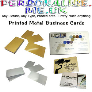 Printed metal business cards loyalty cards promotional items full image is loading printed metal business cards loyalty cards promotional items reheart Gallery
