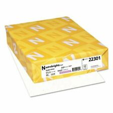 Neenah Astrobrights Colored Paper 8 12x11 Stardust Wh 500 Sheets Wau22301
