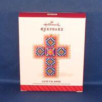 Hallmark - 2014 La Fe Y El Amor - Cross - Keepsake Christmas Ornament -