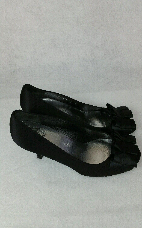 Stuart weitzman heels 7 gigi noir bow noir Couleur Couleur Couleur womans  Taille 10 27ac94